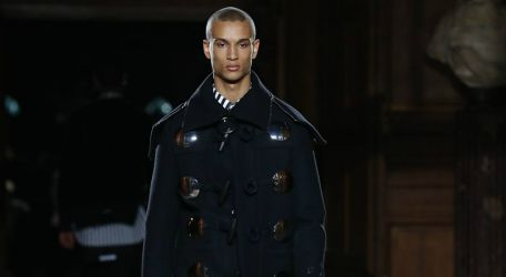 Givenchy cautiva en la Fashion Week de París
